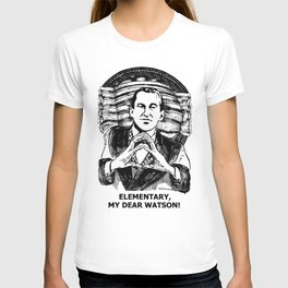 Murder & Mayhem / Britain's Consulting Detective by Peter Melonas T-shirt