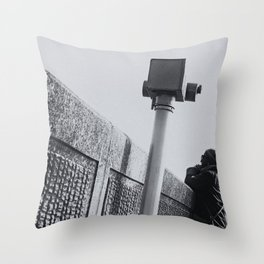 A view of the sea Throw Pillow