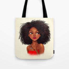 more curls Tote Bag