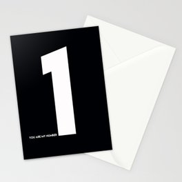 You Are My Number One Stationery Cards