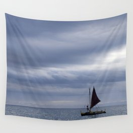 Lonesome Sailor Wall Tapestry