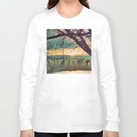 horses Long Sleeve T-shirts featuring horses by Jake Reedy