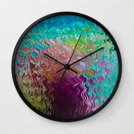 Digital Glass Wall Clock