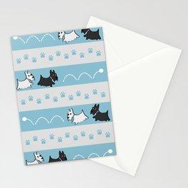 Scotties Pattern Stationery Cards