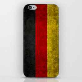 Flag of Germany - Vintage version iPhone Skin
