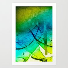manic Art Print