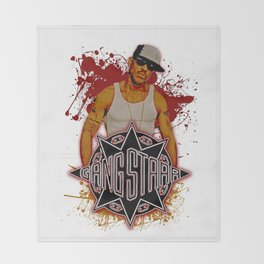GangStarr Throw Blanket