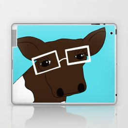 Matilda the Hipster Cow Laptop & iPad Skin