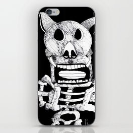 Pig Bat iPhone Skin