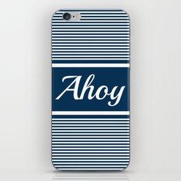 Ahoy iPhone Skin