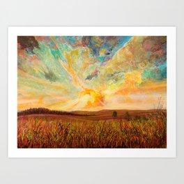 color tumoil Art Print