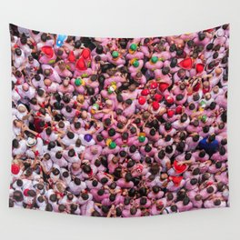 Spain Espagne Pamplona Wall Tapestry