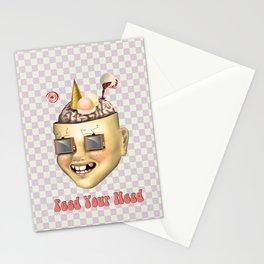 Pokerface Stationery Cards