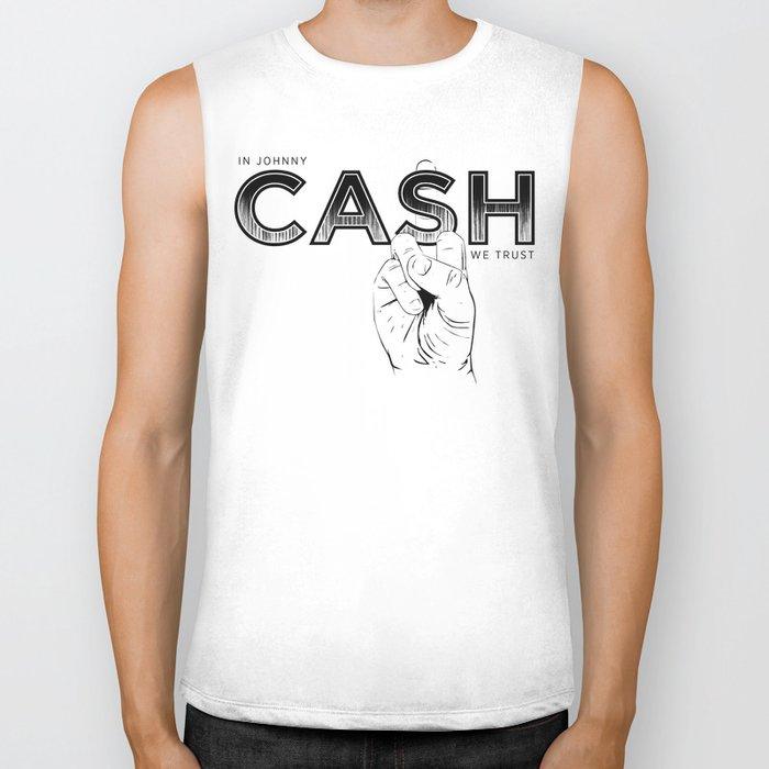In Johnny Cash We Trust. Biker Tank