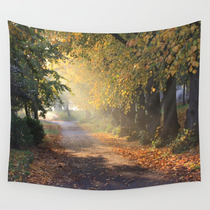 Shafts Wall Tapestry