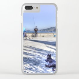 The Waiting Game Clear iPhone Case