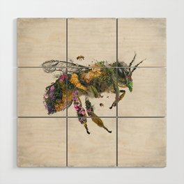 Must be the honey Wood Wall Art