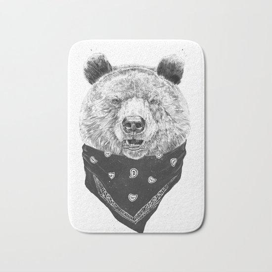 Wild bear Bath Mat