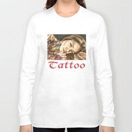 Tattoo Model Painting | Tattoo Shop Long Sleeve T-shirt