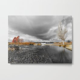 A Moody Winter's Day Metal Print