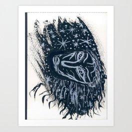 Dans les étoiles... Art Print