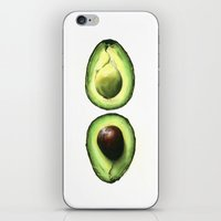 avocado iPhone & iPod Skins featuring Avocado by Sam Luotonen