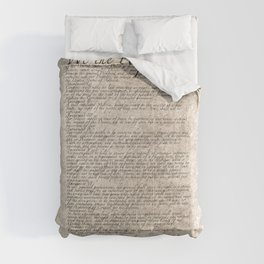 US Constitution - United States Bill of Rights Comforters