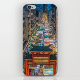 Hong Kong Market iPhone Skin