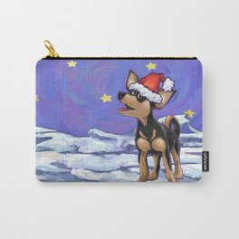 Chihuahua Christmas Carry-All Pouch