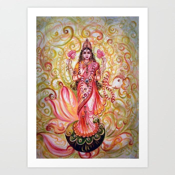 Lakshmi - Abundance Art Print