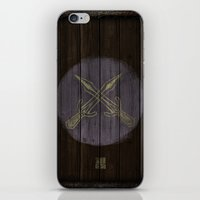 skyrim iPhone & iPod Skins featuring Shield's of Skyrim - Riften  by VineDesign