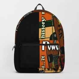 Power Hustle (To Reach a Place of Zen) artwork Backpack