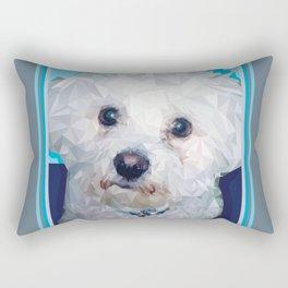 Roscoe Dog Rectangular Pillow