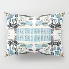 On the spectrum / blue Pillow Sham