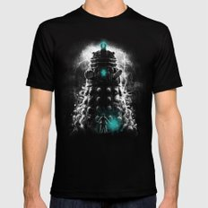 Shadow Of The Dalek Mens Fitted Tee Black MEDIUM