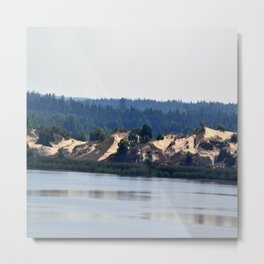 Landscape on the river # 2 Metal Print