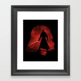 A New Dark Force Framed Art Print