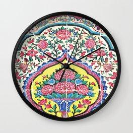 Beauty of tiles Wall Clock