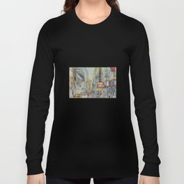 Broadway,  New York - Five O'Clock Revised Long Sleeve T-shirt