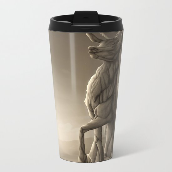 Revenge of the Nature: Guardian of the Earth Metal Travel Mug
