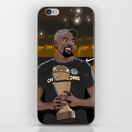 A new king is crowned in the NBA iPhone Skin
