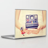 polaroid Laptop & iPad Skins featuring Polaroid by Irene Miravete