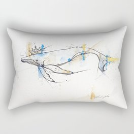 Litte Royals Series - King Whale  Rectangular Pillow
