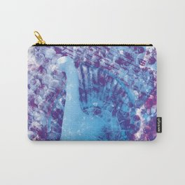 Withering Blue Bird Carry-All Pouch