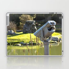Pondside Panoramic Visor Laptop & iPad Skin