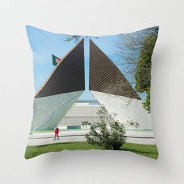 Skate in Lisbon 4 Throw Pillow