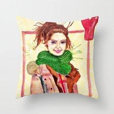 Yoona Throw Pillow