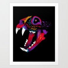 El Gato Muerto Art Print
