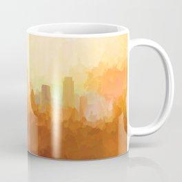 Austin, Texas Skyline - In the Clouds Coffee Mug