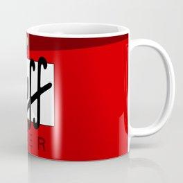 Duff Beer Logo Red Coffee Mug